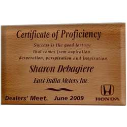 1041 Wooden Plaques