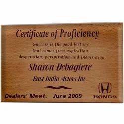 1041 Wooden Plaques