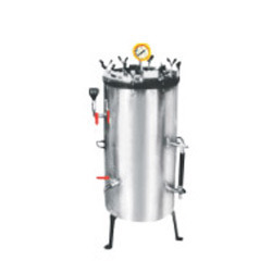 Vertical H.P Steam Sterilizer Autoclave ( Double Walles )