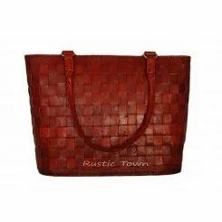 Red Check Bag