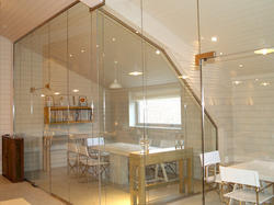 Glass Partition Frame Service