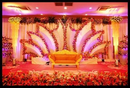 Stage Flower Decoration In Chennai By Sri Sai Shakthi