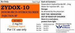 Doxorubicin Injection BP 5 MG