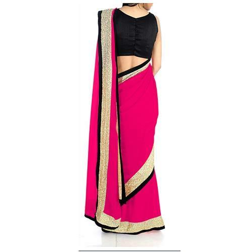 Modern Embroidered Saree