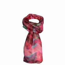 Printed Silk Habotai Scarves