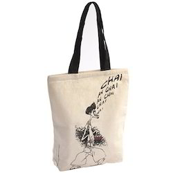 Long Handle Cotton Bag