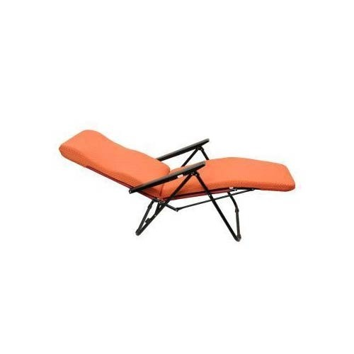 Moulded Foam Portable Metal Reclining Chair Tulip, MS