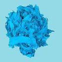 Turquoise Cotton Yarn Waste