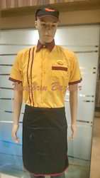 Steward Uniforms In Yellow Colour