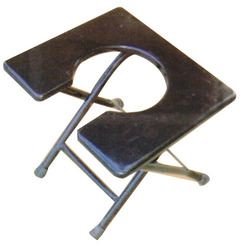 Ms Frame Square Commode Stool