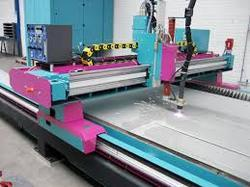 CNC Plasma Cutting Services up to 100 mm Thick SS , Alumini