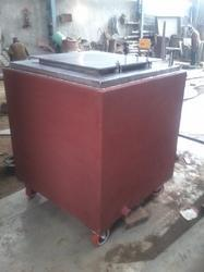 Square Jacketed Tank