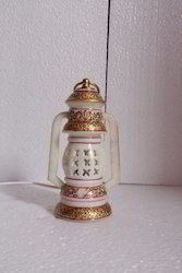 Marble Lantern 7 inch