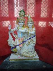 Marble God Statue Radha Krishna