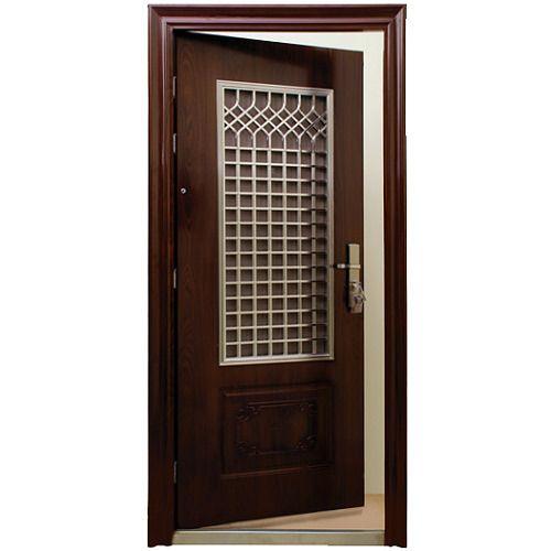 Steel Swing Double Layer Security Door