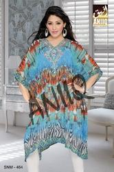 Digital Printed Short Kaftan 464