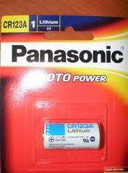 CR 123 Panasonic 3V Photo Lithium