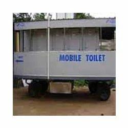 8 Seater Mobile Toilet Van For Rent