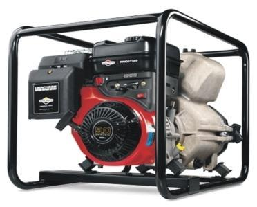4inch Trash Pump TPH100 with Briggs & Stratton 420cc Engine, Max Flow Rate: 1700 Lpm