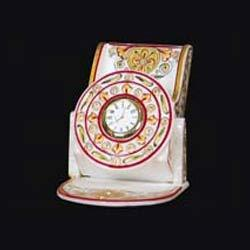 Handicrafted Marble Clock