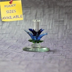 Boro Glass Handmade Toothpick Holder- Flameworking Glass Art