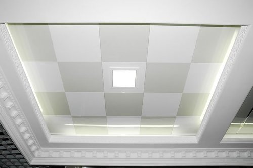 Gypsum Board False Ceiling ज प सम स