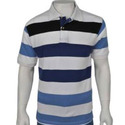Men's Striped Collared T-Shirts