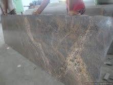 English Teak Granite Slabs