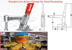 Straight Line Action Clamps for Food Processing