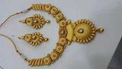 Gold Matte Necklaces