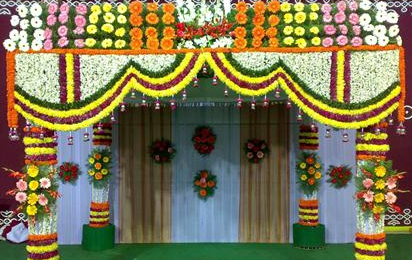 Party Decoration Flower Decoration Service Provider from Colva