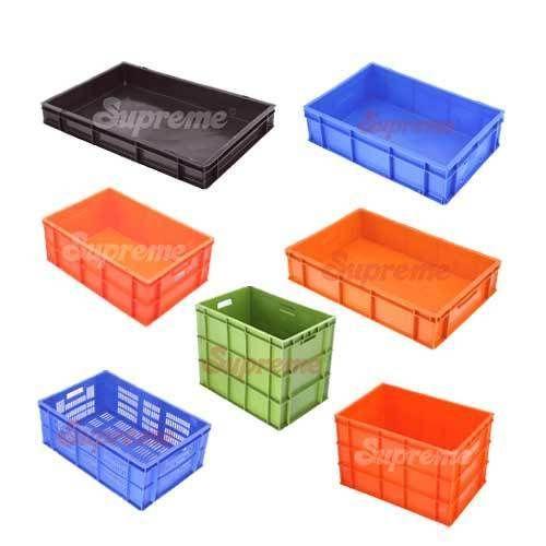 Plastic Storage Crates Fish Crates Wholesaler From Chennai