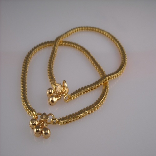 Gold Anklets At Rs 15000 Pair Gandhipark Coimbatore