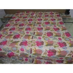 Ikat Print Kantha Quilts