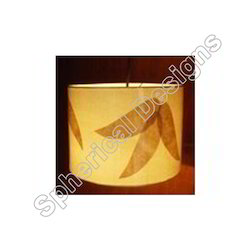 Hanging Lamp with Banana Pattern