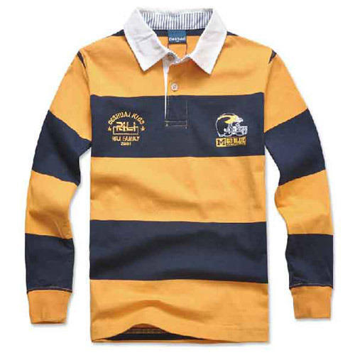 Kids Polo Longsleeve T Shirt