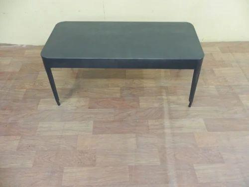 Grey Iron Industrial Coffee Table