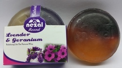 Lavender and Geranium Handmade Soap