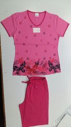 Ladies Colored Pyjama Set