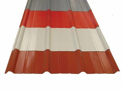 Color Coated Trapezoidal Profile Sheet Uttam Galva