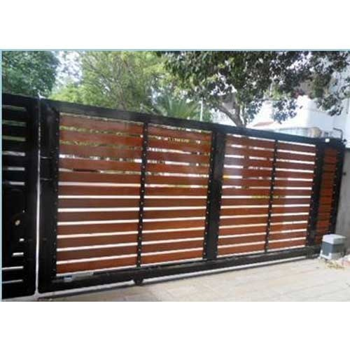 Manual Sliding Gate Design Modern