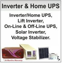 Inverter, Home UPS And Voltage Stabilizers