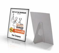 Sunboard Certificate Frame