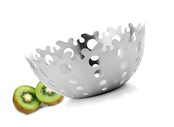 Steel Fruit Bowl
