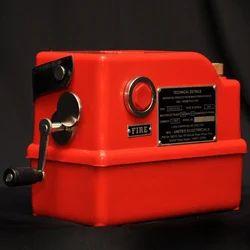 Dynamo Condenser Type Exploder