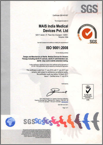 Mais India Medical Devices Private Limited - Manufacturer