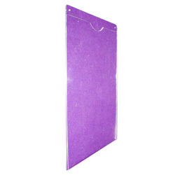 Acrylic Wall Chart Holder