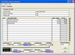 Invoice Creation Software Services
