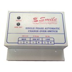 32 Ampere Single Phase Automatic Change Over Switch