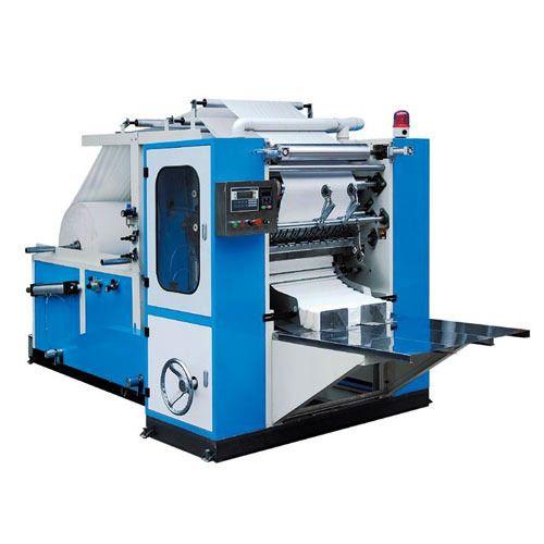 Semi Automatic Tissue Paper Napkin Making Machine Rs
